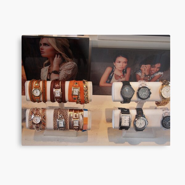 Watches  Metal Print