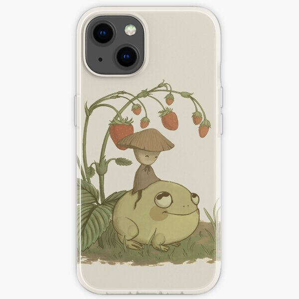 Mushy and Froggy iPhone Soft Case