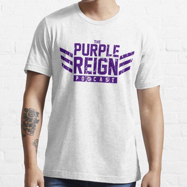 Distressed Dockers (purple print) Essential T-Shirt