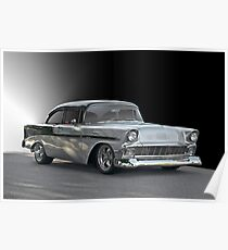 1956 Chevy 'Post' Coupe Poster