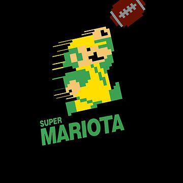 Super Mariota iPhone by Scottcamstewart