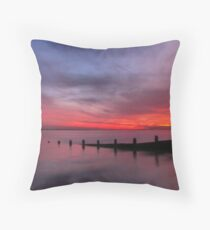 Break Water Throw Pillow