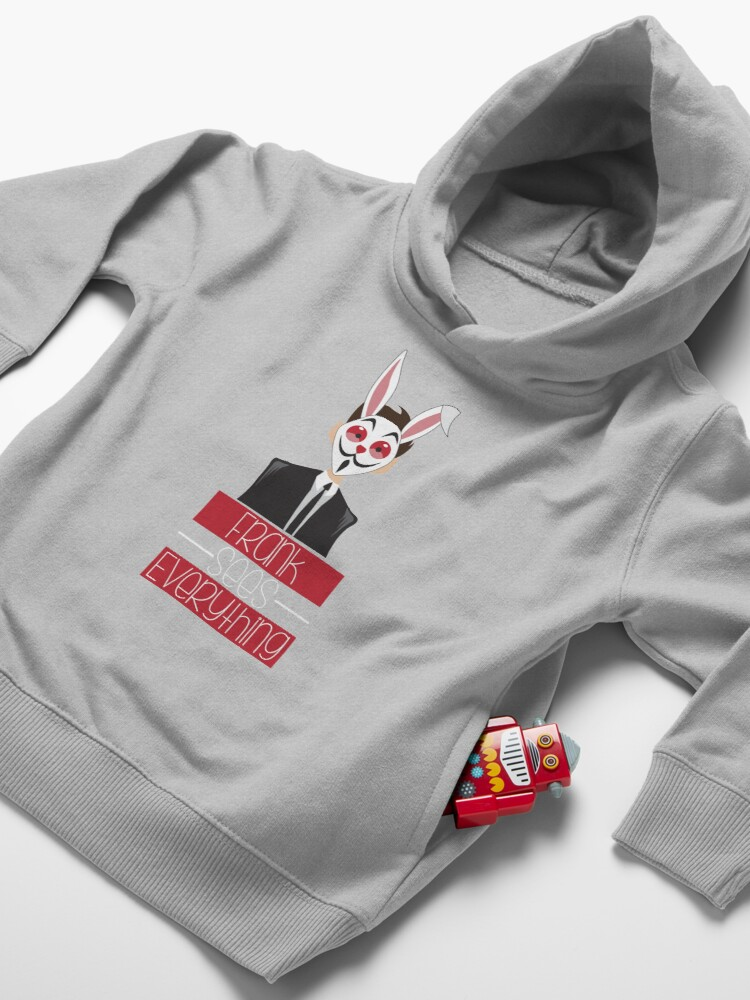 Alternate view of Subway Surfers character Frank Toddler Pullover Hoodie