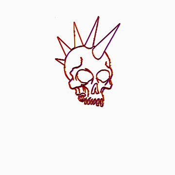 Punk Skull by DreddArt