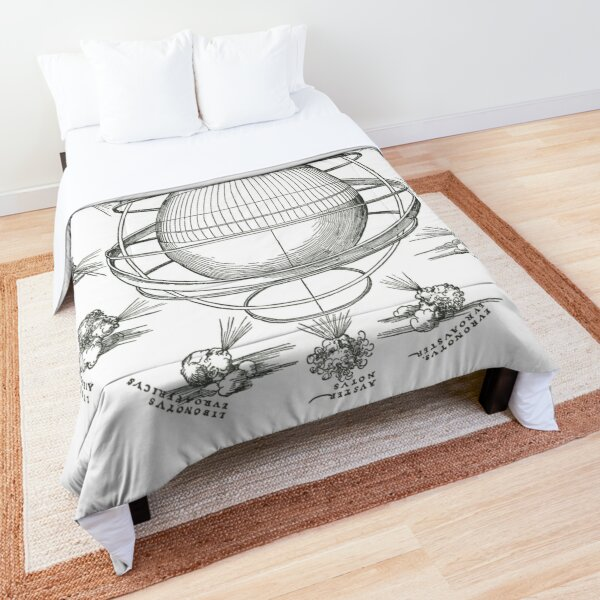 Armillary sphere - Albrecht Durer Comforter