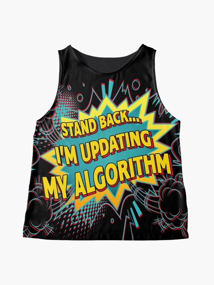 Alternate view of Updating My Algorithm. Sleeveless Top