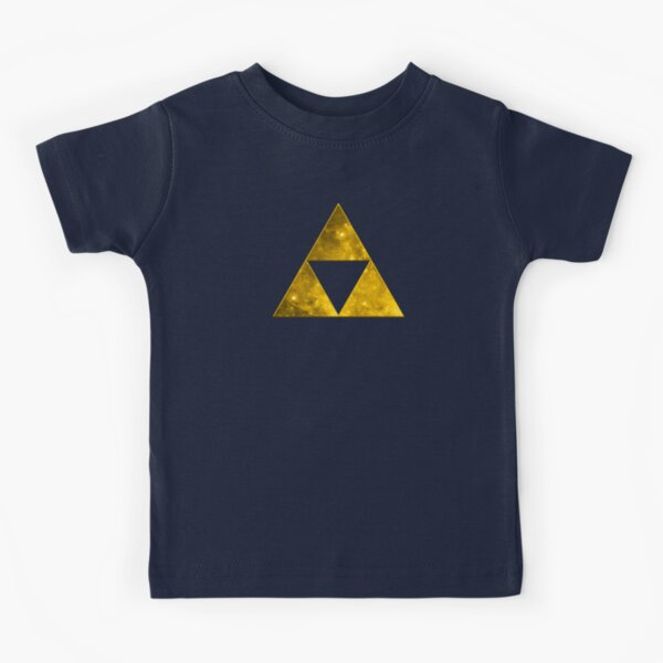 Triforce, Ancient Magical Symbol, Sierpinski Triangle, Galaxy Kids T-Shirt