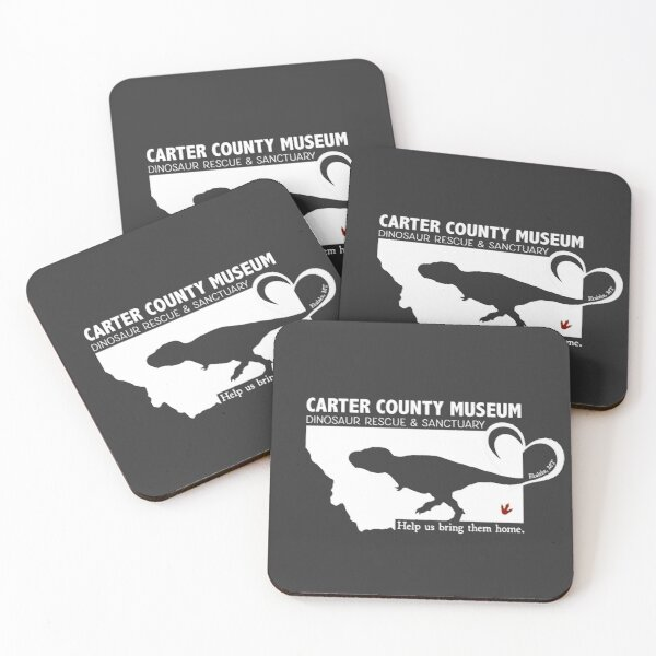 CCM Dino Rescue Coasters (Set of 4)