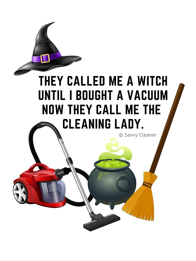 Funny Halloween Cleaning Shirts and Gifts by SavvyCleaner