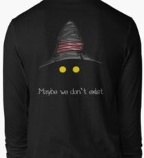 Maybe We Don't Exist - Final Fantasy IX (Vivi) T-Shirt