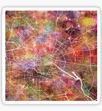 Berlin map Sticker