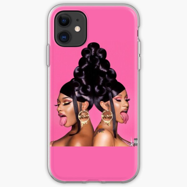 WAP cardi b x megan thee stallion cover  iPhone Soft Case
