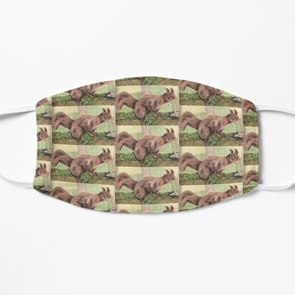 Red Squirrel Mask