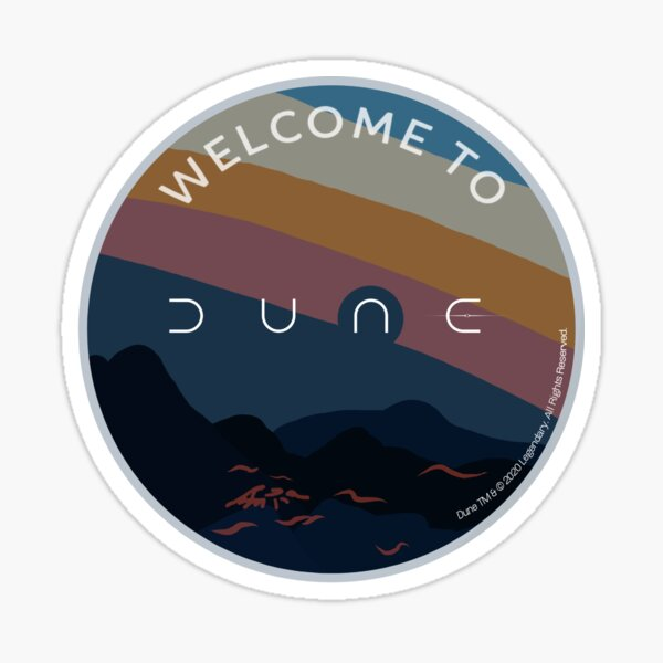 Welcome to Dune Sticker