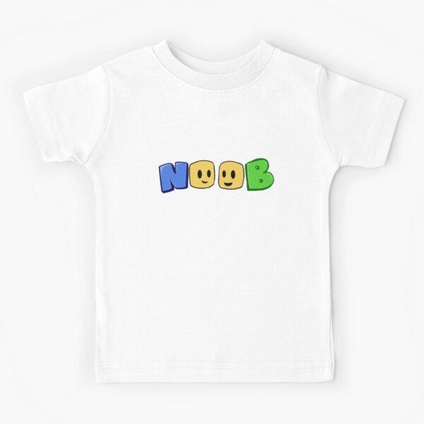 noob blockheads roblox logo Kids T-Shirt