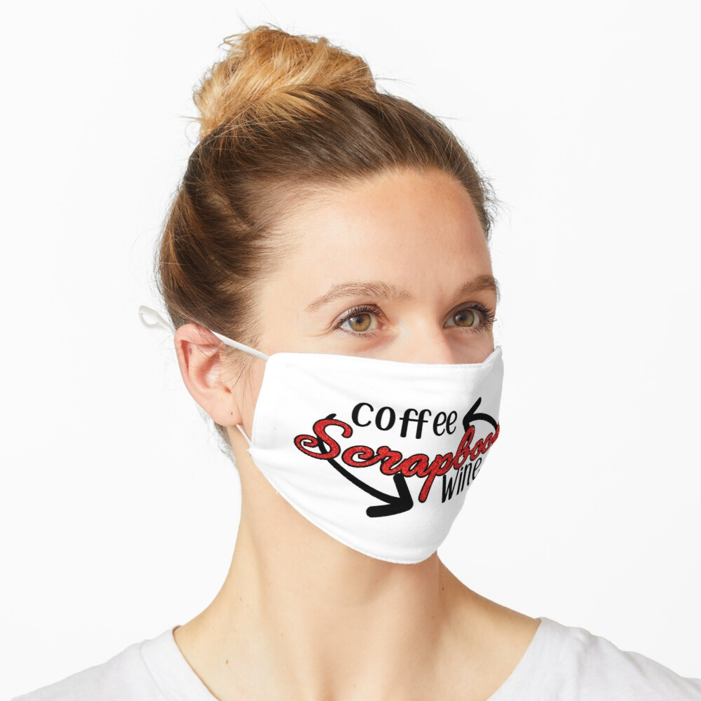 Coffee - Scrapbook - Wine Mask