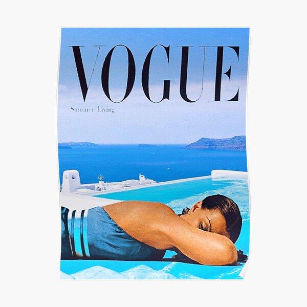 Santorini Summer Poster