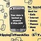 NSA Smartphone backup cartoon by Binary-Options