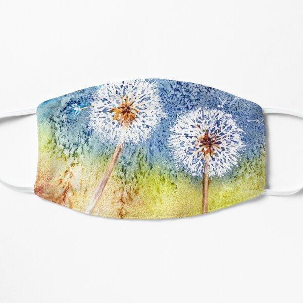 Dandelion Clocks Flat Mask
