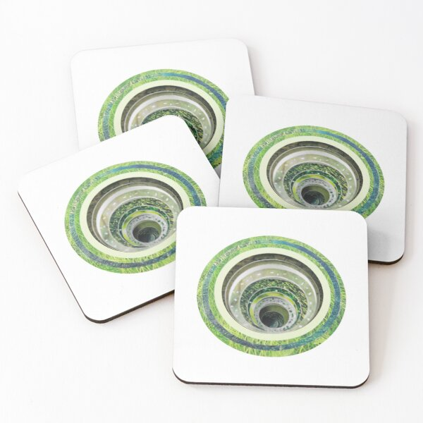Concentric circles Coasters (Set of 4)