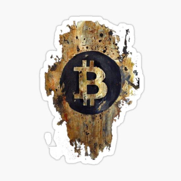Bitcoin stamp Sticker