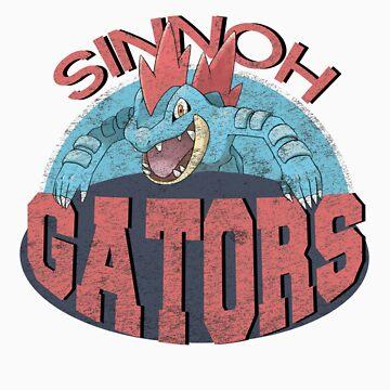 Sinnoh Gators by FrogusIV