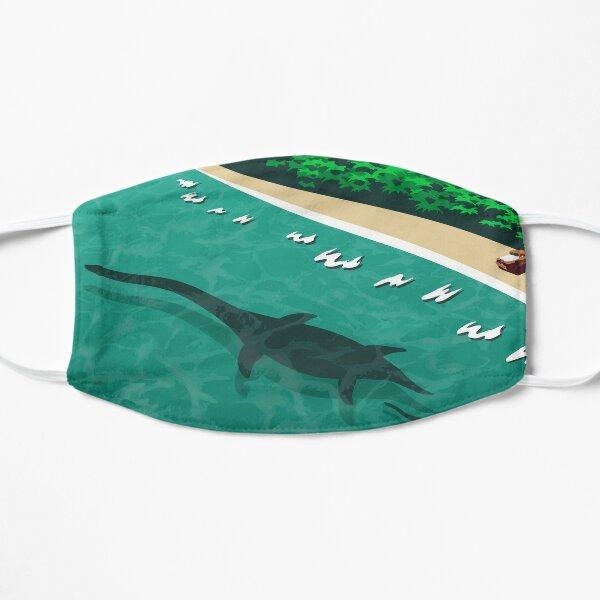 Pinto Plesiosaurs Flat Mask