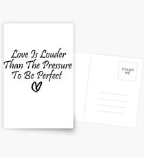 Love Is Louder Postcards