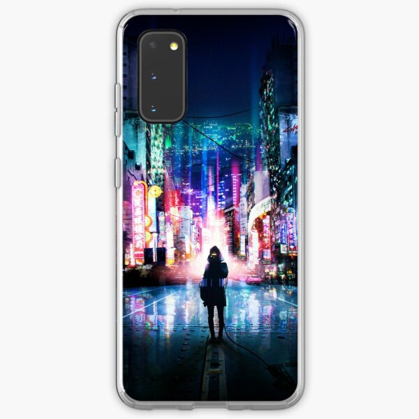 Tokyo Cyberpunk Japan Samsung Galaxy Soft Case