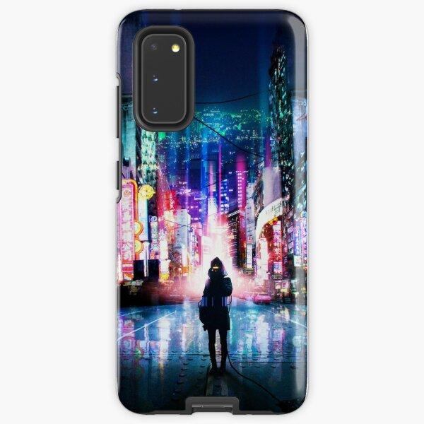 Tokyo Cyberpunk Japan Samsung Galaxy Tough Case