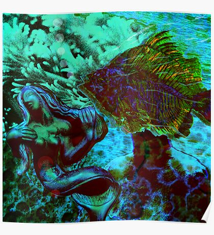 Submerged Courtship Poster