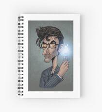 Dr who David Tenant  Spiral Notebook