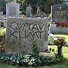 Grave of Gustav Klimt. by Lee d'Entremont