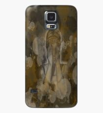 Sepia Weeping Angel Case/Skin for Samsung Galaxy
