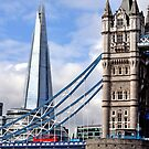 Puente levadizo and The Shard, nuevo hito de Londres. by cieloverde