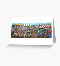 Music Festival Greeting Card