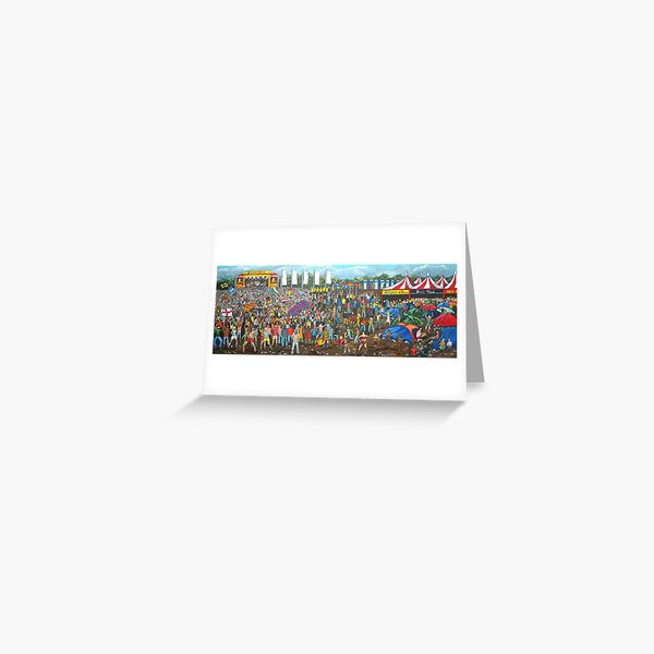 Music Festival Greeting Card