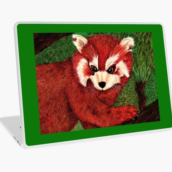 Red Panda Laptop Skin