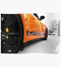 Porsche GT3 RS Poster