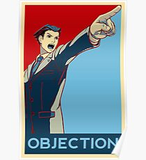 Objection - R/B Poster