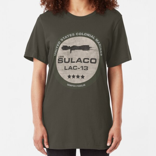 USS Sulaco Slim Fit T-Shirt