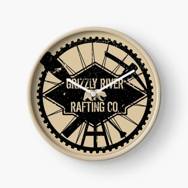 Grizzly River Rafting Co. Clock