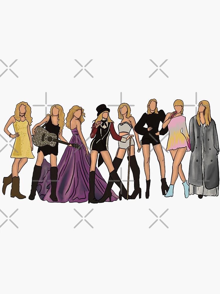 Taylor Eras by kayleesartt