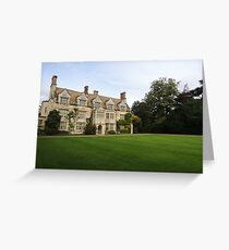 Anglesey Abbey Greeting Card