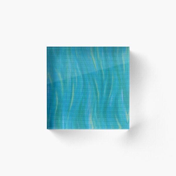 Sea Swaying Acrylic Block