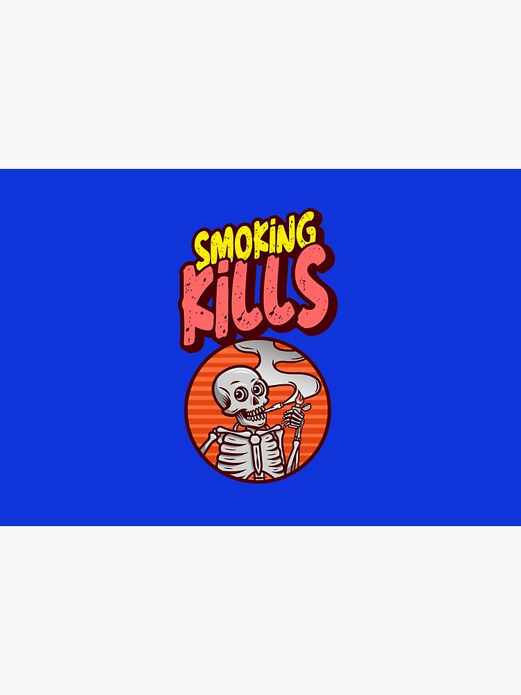 smoking kills face mask and stickers by ds-4