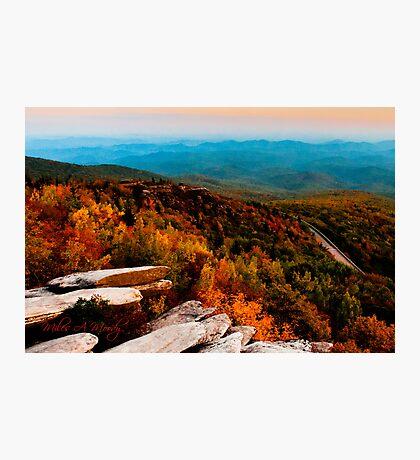 Rough Ridge Evening Photographic Print
