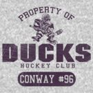 Ducks Hockey by johnbjwilson