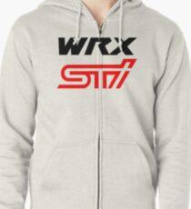 WRX STI Zipped Hoodie