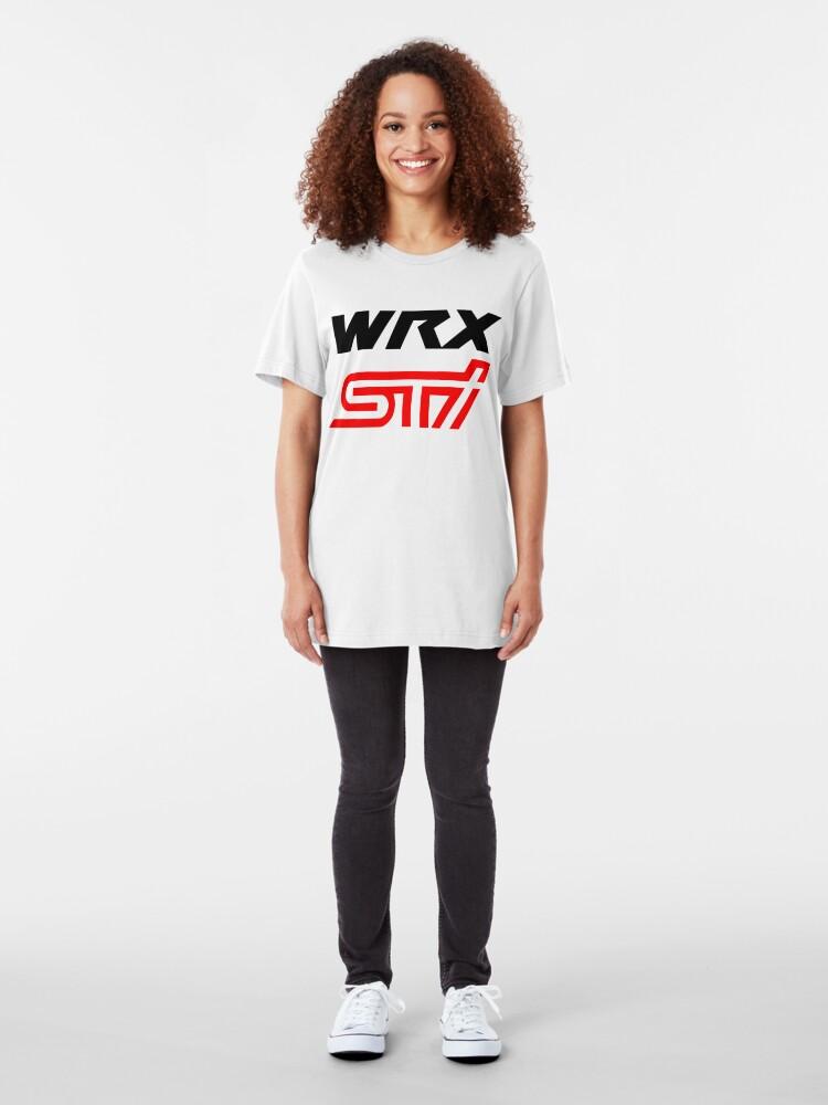 Vista alternativa de Camiseta ajustada WRX STI